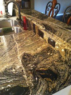 My Kitchen Granite Juparana Andes Kitchen Counters, Granite Kitchen, Granite Flooring, Granite Countertops, Stone Kitchen, New Kitchen, Granite Colors, Cabin Kitchens, Granite Stone
