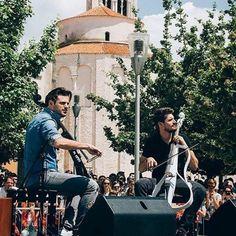 2CELLOS el 6 de octubre en el estadio Luna Park! #2cellos #lukasulic #stjepanhauser #dusankranjc #music