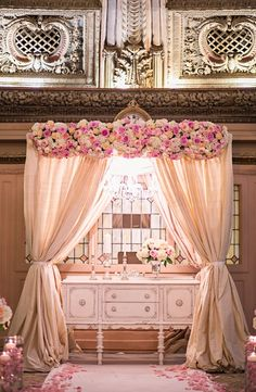 I'd like this canopy at my wedding and in my bedroom. #love