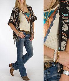 'Tribal Pursuit' #buckle #fashion  www.buckle.com