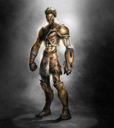 Armor of God Artwork | Armaduras del 'God of War III'