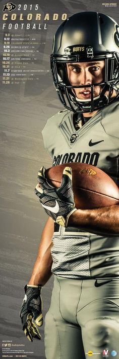 Colorado 2015 Football Poster 2