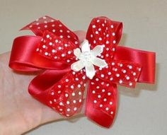 DIY Clip Hair for Girls : DIY Gorgeous Little Girls Hair Bows