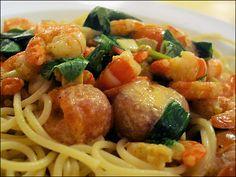 Gordon Ramsay's Spaghetti with prawns in a creamy tomato sauce | Flickr - Photo Sharing!