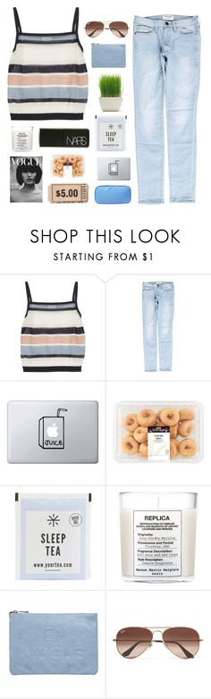 """NOSTALGIA"" by itssloanexoxo ❤ liked on Polyvore featuring SUNO New York, Frame, Maison Margiela, NARS Cosmetics, Miss Selfridge, Ray-Ban and sloanessimples"