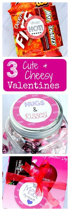 3 Cheesy Valentine's Gifts for the Man You LOVE!