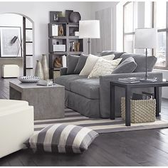 Mason Coffee Table in Side, Coffee Tables | Crate and Barrel