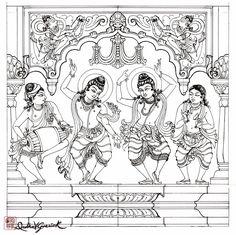 Sankirtana Drawing | Divyakala