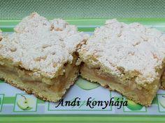 Habkönnyű almás sütemény - Andi konyhája - Sütemény és ételreceptek képekkel