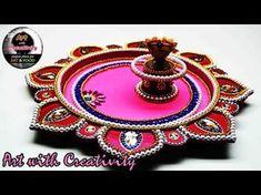 Diy Crafts Hacks, Diy Crafts For Gifts, Diy Home Crafts, Diy Arts And Crafts, Clay Crafts, Diwali Diya, Diwali Craft, Diwali Decorations, Festival Decorations