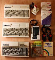 MSX Spectravideo 728 & SV 328 paket på Tradera.com