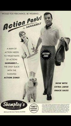 Action pants!