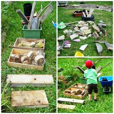 Play Empowers : My love affair with loose parts Outdoor Learning Spaces, Outdoor Spaces, Natural Play Spaces, Outdoor Centre, Outdoor Play, Outdoor Ideas, Love Affair, Toddler Preschool, Kids Playing