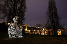 """""""We"""" statue by Jaume Plensa/Vancouver, Canada"""