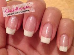 Chickettes.com:  Gelish French Manicure How-To