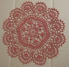 Crochet Doily от sneiki1 на Etsy