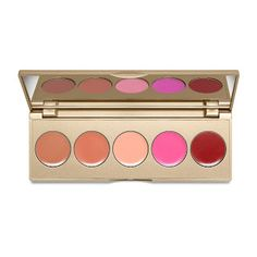 Stila Convertible Color Dual Lip and Cheek Palette Sunset Serenade Oz. for sale online Matte Gel, Cream Blush, Soft Lips, Lip Brush, Lipstick Shades, Wash Bags, Girls Makeup, Beauty Industry, Colorful Makeup