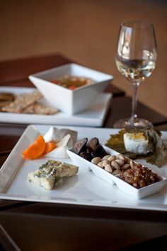 Small plates for wine pairings