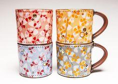 JASON BIGE BURNETT - Floral Mugs