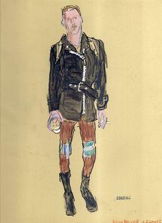 Excellent Artist and Fashion Designer Richard Haines