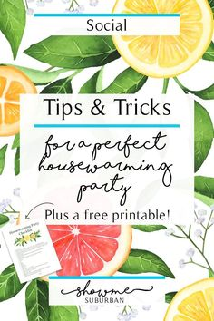 Tips and Tricks for a Perfect Housewarming Party ShowMe Suburban