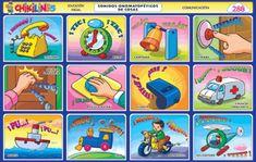 Galeria de chikilines   Chikipedia - Láminas Escolares Day, Cognitive Activities, Alphabet For Kids, Preschool Worksheets, Toddler Activities, Library Decorations, Kids