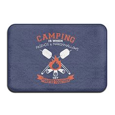 camping kitchen mat - Camping Frinds Marshmallows Toast Holiday Welcome Mat Doormat Outdoor Funny * Click image for more details. (This is an affiliate link) Camping Kitchen, Go Camping, Jeep Wrangler Camping, Kitchen Mat, Welcome Mats, Doormat, Marshmallows, Toast, Link