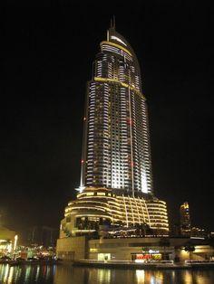 Highest building in Dubai / Dubai, UAE 110307