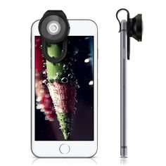 Take your smartphone or tablet photography to the next level with  3-in-1 smartphone gadget lens set. This mini set offers 3 high quality, easy to use clip-on lens