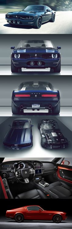 Equus BASS770 - 60's muscle car styling with 660hp and all the modern goodies. All for a very economical $250,000.