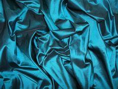viridian silk taffeta