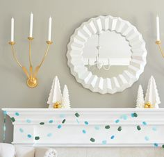 DIY Gemstone Garland