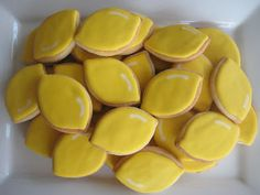 Lemon cookies for a Lemonade Stand