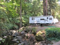 Saratoga Springs is nestled in the foothills of the Santa Cruz coastal mountain range. Although close to the historic city of Saratoga, and just 30 minutes from San Jose or Mountain View, it is worlds apart from the bustle of Silicon Valley. #roadzies #rv #camping