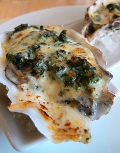 Dennys Food and Recipes: 3 Oyster Recipes: Awesome Louisiana Food From National Food Conference Fish Dishes, Seafood Dishes, Fish And Seafood, Seafood Recipes, Shellfish Recipes, Sushi Recipes, Cajun Cooking, Cooking Recipes, Cooking Bacon