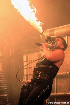 Rammstein. Industrial Goth Music Group from Germany