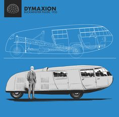 Dymaxion / buckminster fuller (legally this is a streamlined motorcycle since it only has 3 wheels)