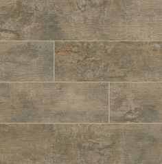 """Porcelain Tile - Eco Wood Series - Argent / 6""""x24"""""""