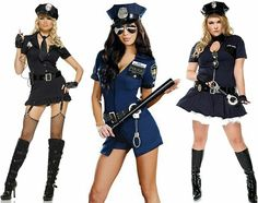 1 Set New Ladies Police Fancy Halloween Costume Sexy Cop Outfit Woman Cosplay Sexy Erotic Lingerie Police Costumes For Women Halloween Costume Teenage Girl, Police Officer Halloween Costume, Sexy Cop Costume, Cop Halloween Costume, Halloween Fancy Dress, Police Costumes, Halloween Party, Female Cop Costume, Edgy Outfits