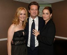 Matthew Perry, Amanda Peet, Sarah Paul at The Lili Claire Foundation Event