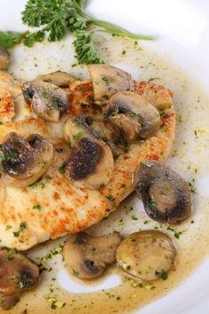 Italian Chicken Marsala - perfect for dinner