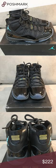 Air Jordan Retro 11, Gamma Blue Size 11 Great Condition, Worn 2 Times, There's 1 Blemish one the right side Patent Leather. Just noticed that. No Creasing in the Leather. Jordan Shoes Sneakers