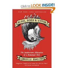 Blood, Bones & Butter - actually good for anyone to read but this looks good sitting out on a Scorp's bedside or coffee-table.  Just to scare off the timid, doncha' know!  Actually a book about a chef.