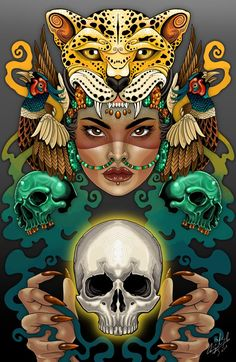 Miguel Marfil on Talenthouse Mexican Artwork, Mexican Paintings, Viking Symbols, Egyptian Symbols, Mayan Symbols, Viking Runes, Ancient Symbols, Chicano Art, Chicano Tattoos