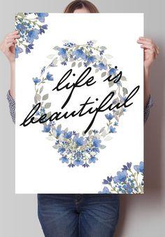 Fancy - Life is Beautiful Print
