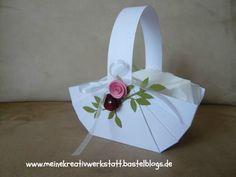 Stampin up, Hochzeitskörbchen
