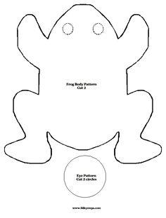 free frog sewing patterns