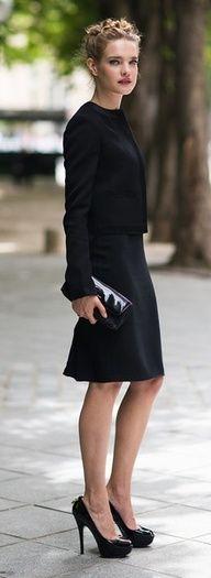 Chic Natalia Vodianova Street Style. A glamorous life | www.myLusciousLife.com