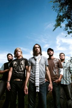 Disciple...love their music<3  and again they get me through a lot