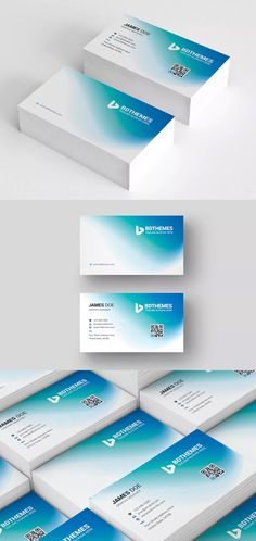 Business Card Template AI, EPS, PSD -Beautiful and Modern looked Business Card for any type of business or corporate office. It's Comes with turquoise blue color combination . It's Fully layered and editable piece by piece. So if you don't like the color combination so you can easily change them as you need. Free Business Card Templates, Free Business Cards, Modern Business Cards, Business Card Design, Blue Color Combinations, Turquoise Blue Color, Banner Template, Name Cards, Creative Design